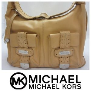 Michael Kors Large Leather Tote/hobo